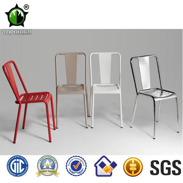 Retro vintage design semplice in metallo sedie da pranzo for Sedie vintage design