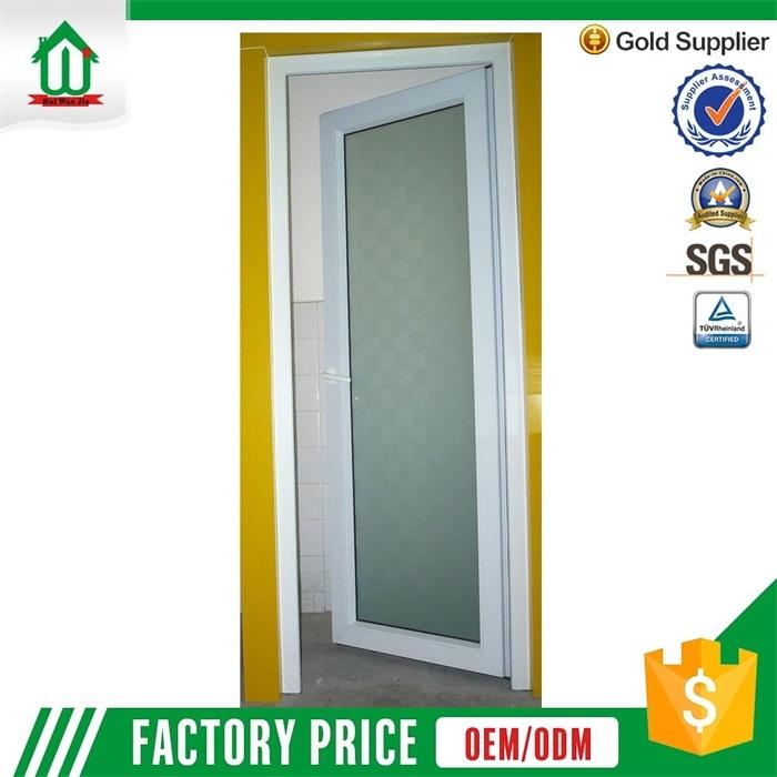 puertas de aluminio del vidrio helado del cuarto de bao exterior wjalu