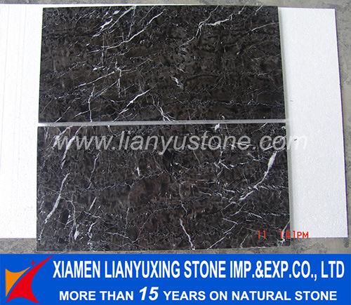 Cuelgue gris azulejo de m rmol para el suelo y los for Suelo marmol gris