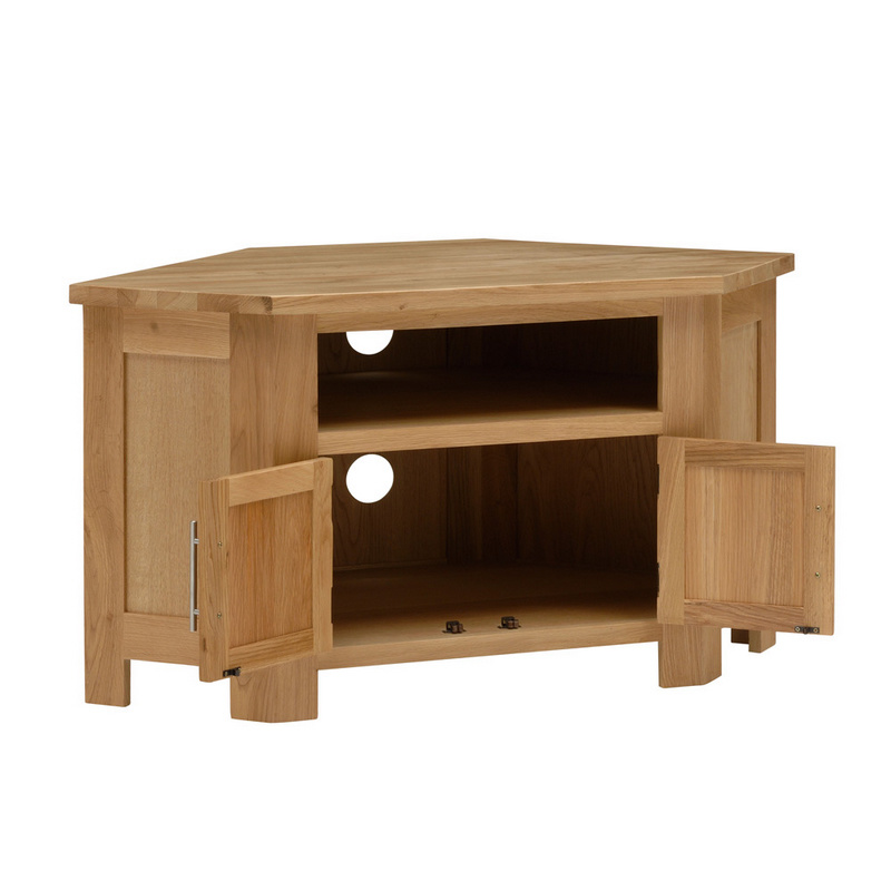 Cabinas de la esquina tv de madera s lida hss813 for Muebles para esquinas