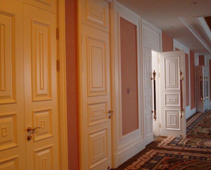 porte int rieure en bois pleine 1100 porte d 39 h tel photo sur fr made in. Black Bedroom Furniture Sets. Home Design Ideas