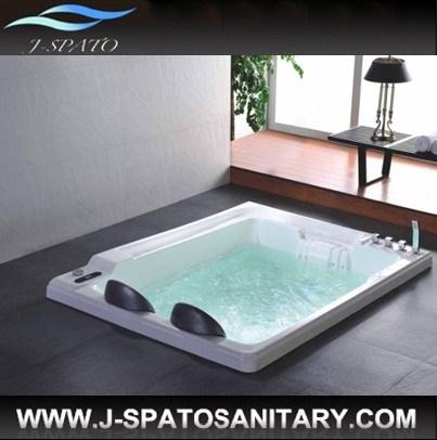 Nouvelle baignoire acrylique pour deux personnes de luxe de hydromassage bai - Baignoire deux personnes ...