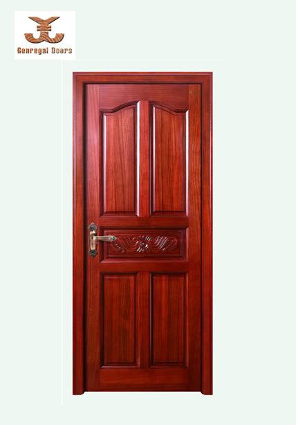 Porte en bois de vernis sensible jg 012 porte en bois de vernis sensible - Peindre porte en bois vernis ...