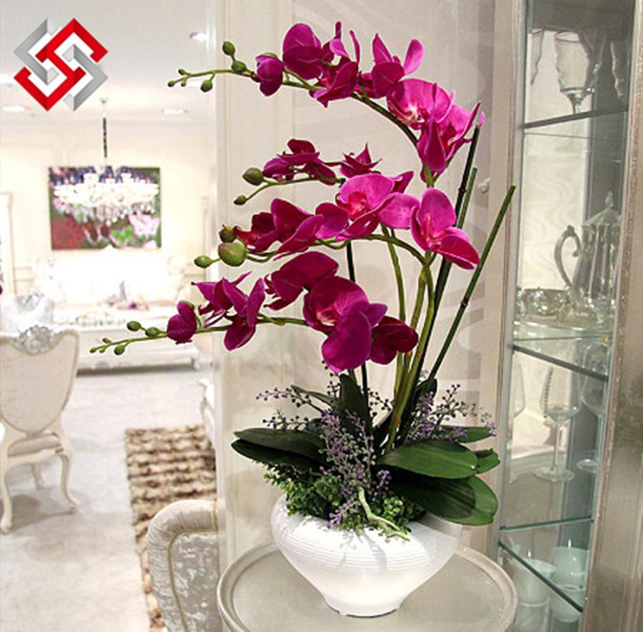 Artificial Handmade Diy Bonsai Home Decor Butterfly Orchid Artificial Handmade Diy Bonsai Home