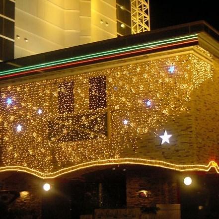 Luces de la decoraci n de la cortina del led para la boda for Cortina de luces led