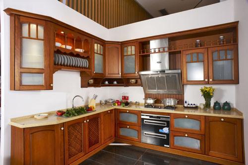 Cabinet de cuisine en bois moderne cabinet de cuisine en for Modele cuisine bois moderne