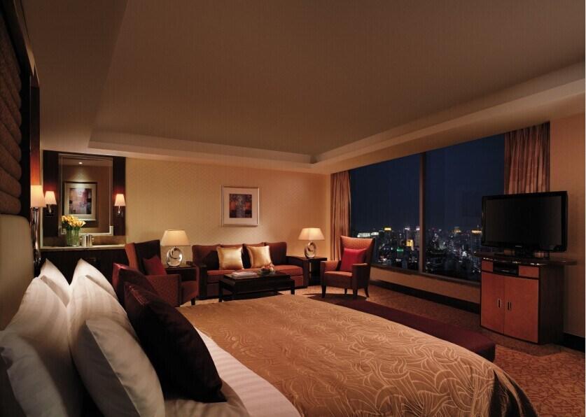 Meubles en bois de chambre à coucher d'hôtel (LX TFA039