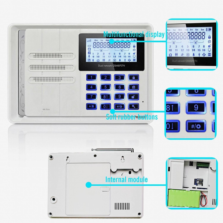 Syst me d 39 alarme la maison de security wireless intruder for Systeme d alarme pour piscine
