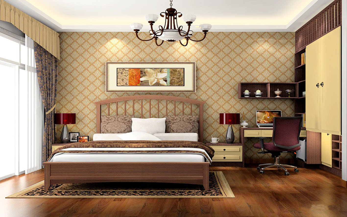 Foto de 2017 moda mobiliario de dormitorio armario gabinete y juego de cama zy 011 en es made - Chambre a coucher tunisie 2017 ...