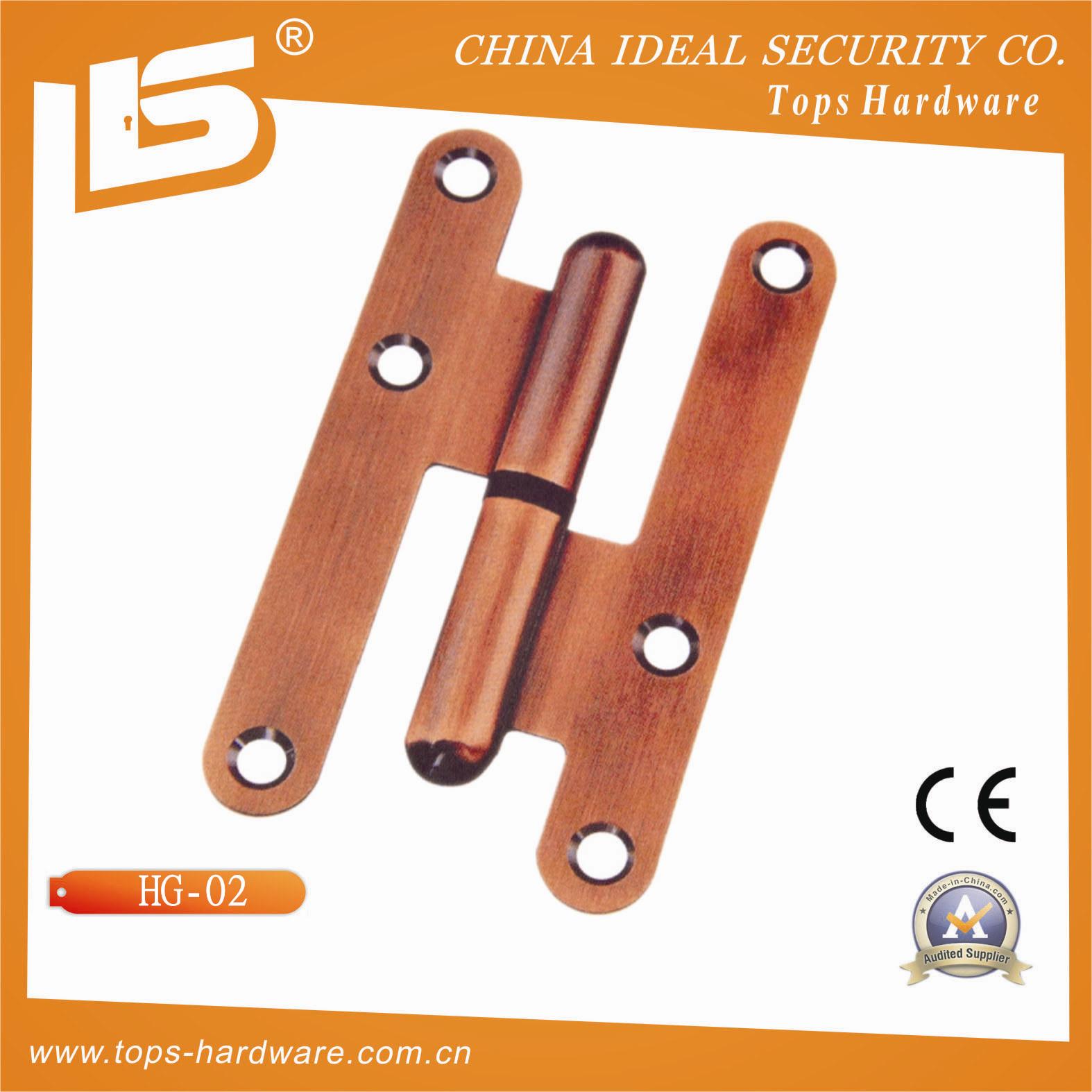 Charni re de porte en acier de laiton de type h hg 02 for Type de porte