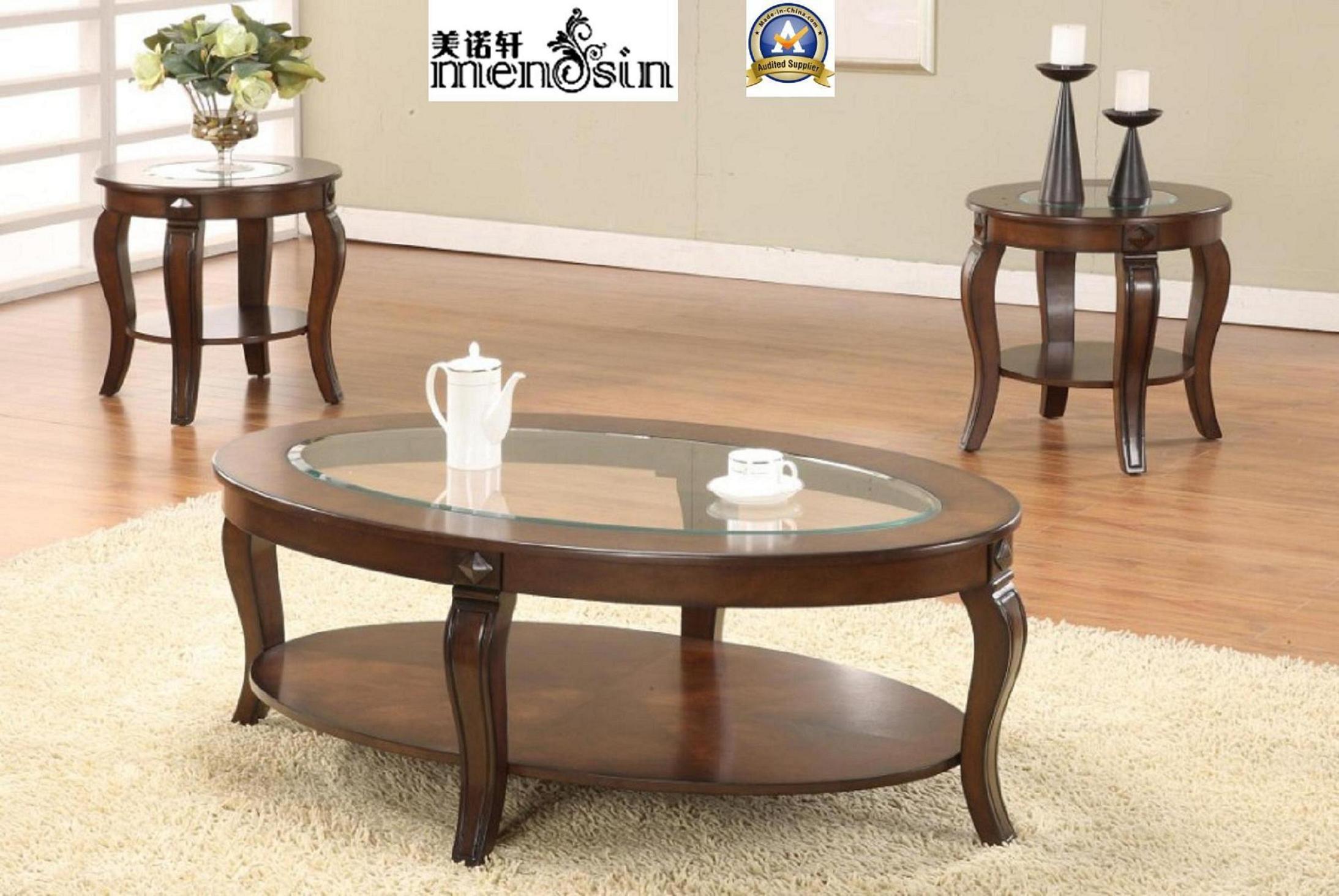 Estremità ovale classica della mobilia che pranza tavolino da ...