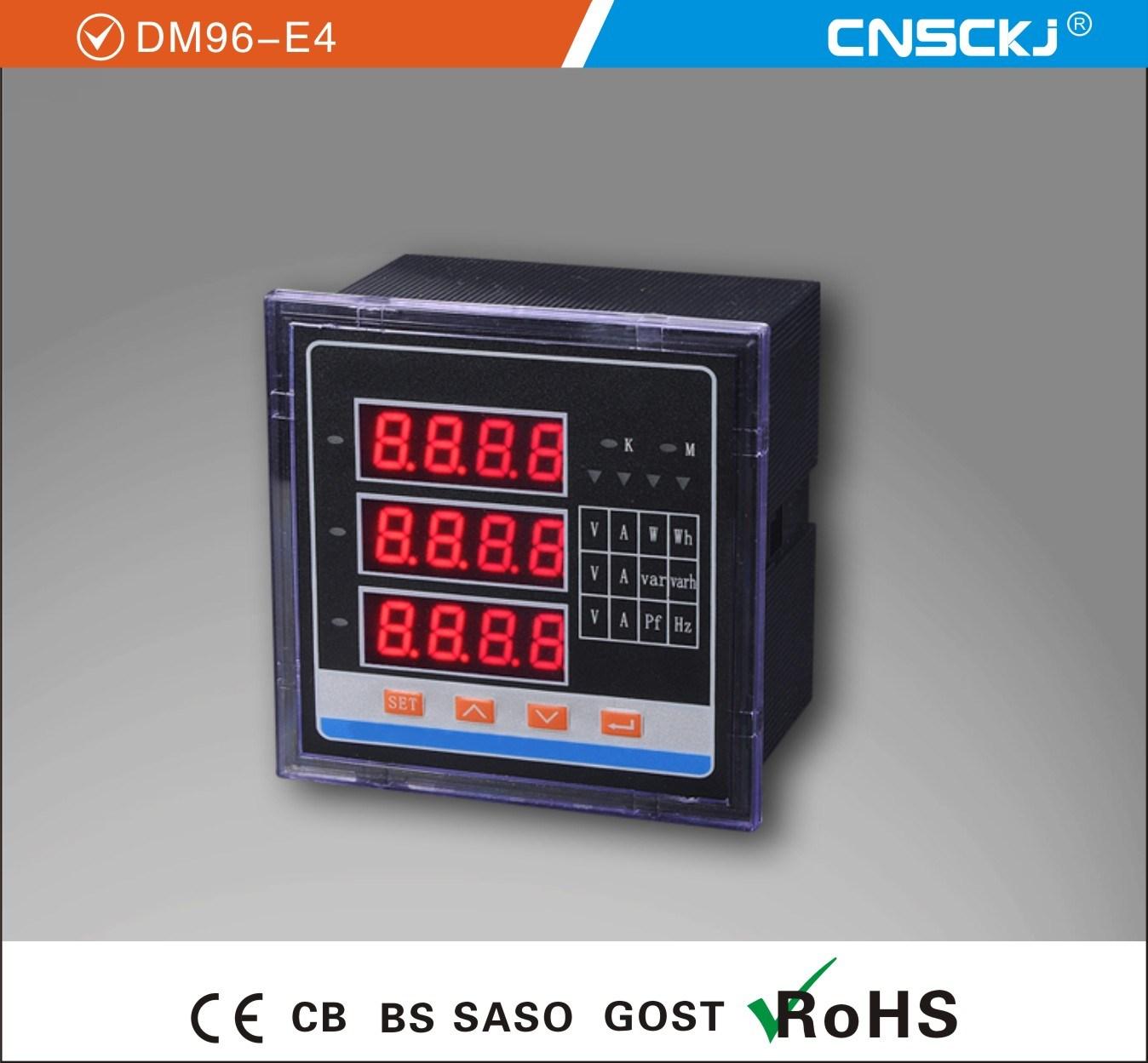 Dm96-E4 Programmable Digital Multimeter 96*96mm – Dm96-E4 ...
