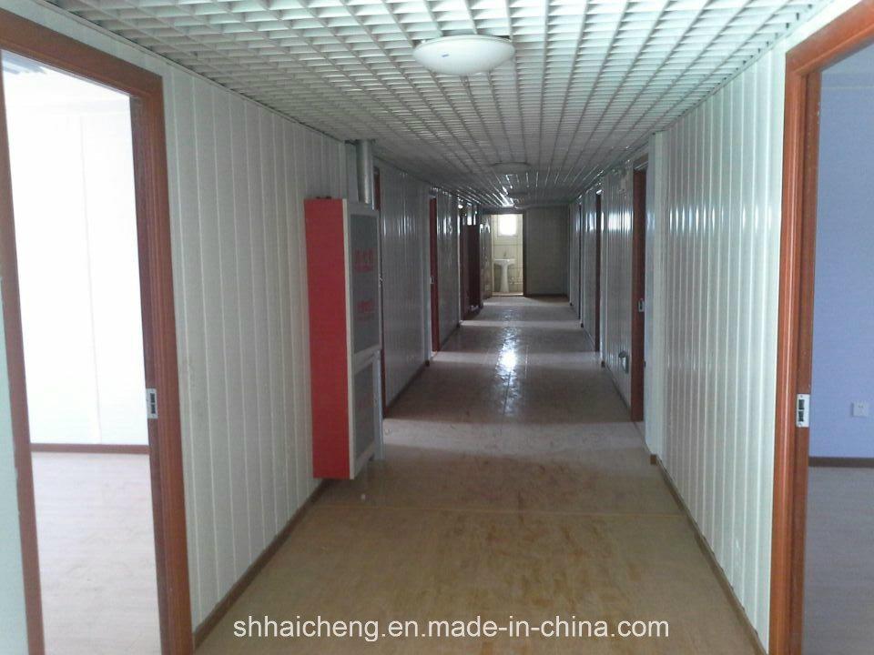 Immeuble de bureau de conteneur avec le s isme resistant for Immeuble en container