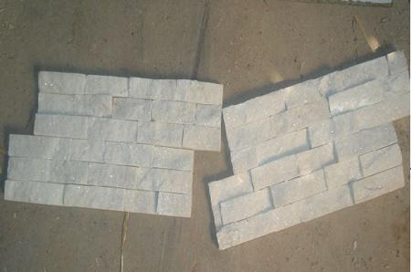 Rivestimento pietra bianca