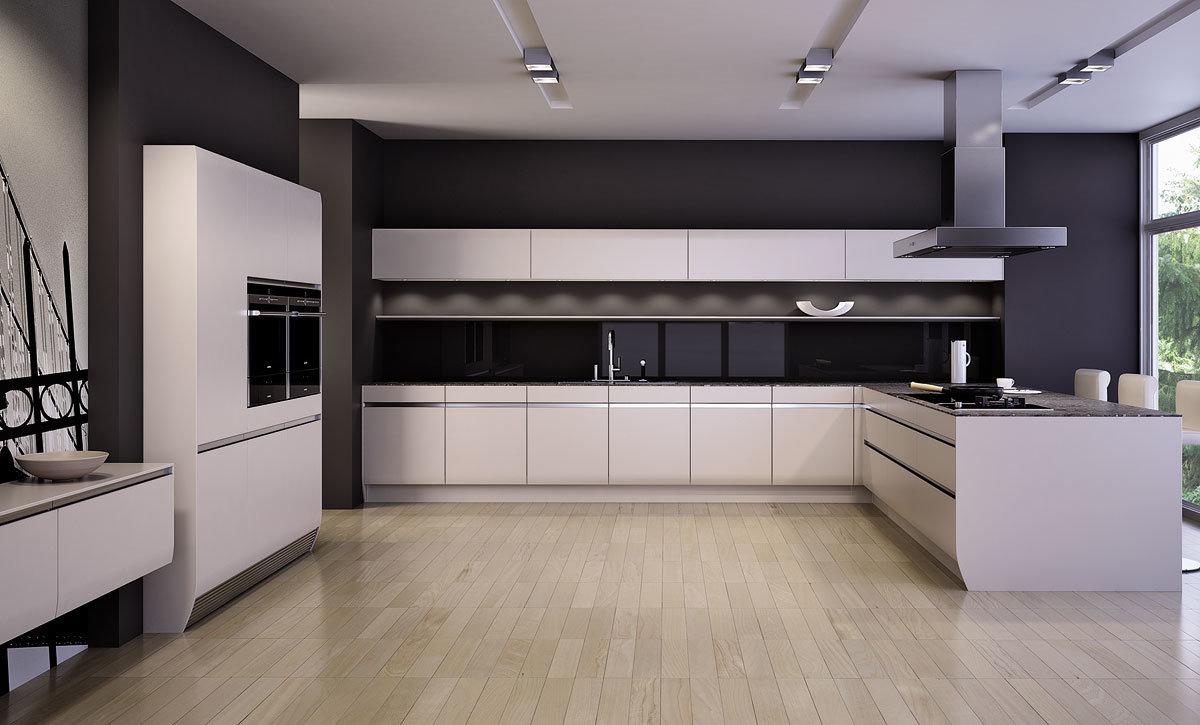 Foto de modulares muebles de cocina alto brillo uv de for Muebles de moda