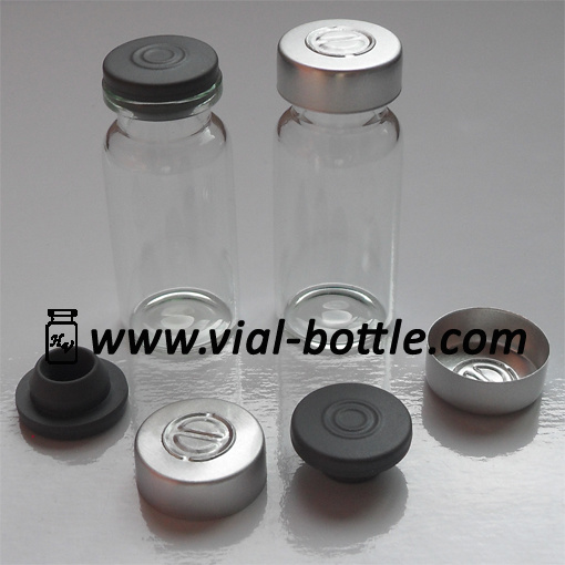 how to break glass injection vial