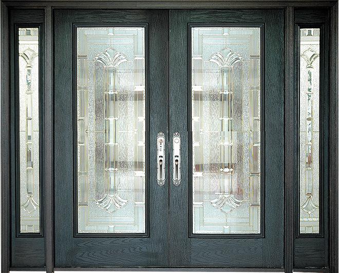 Puerta de la fibra de vidrio puerta de la fibra de for Puertas interiores de madera con vidrio