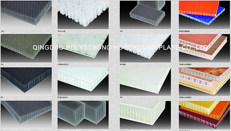 plat ou panneau en plastique de nid d 39 abeilles de pp ou de. Black Bedroom Furniture Sets. Home Design Ideas