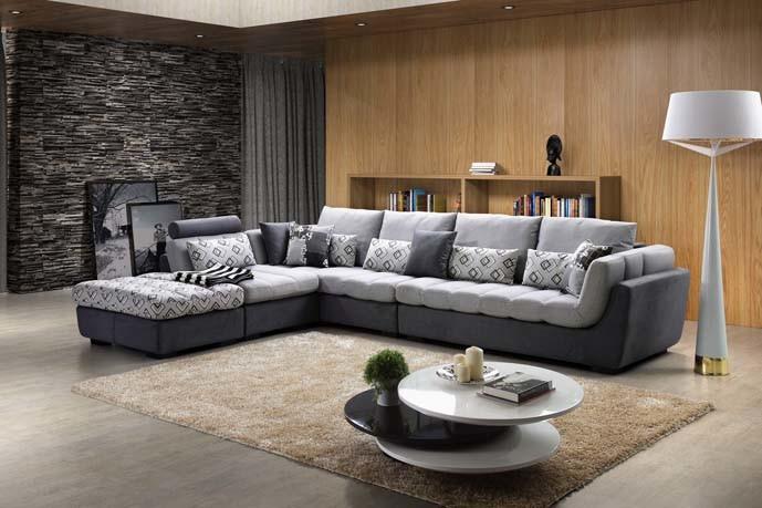 sofas italiens modernes de tissu de meubles sofa de luxe 956 de tissu de meubles sofas. Black Bedroom Furniture Sets. Home Design Ideas