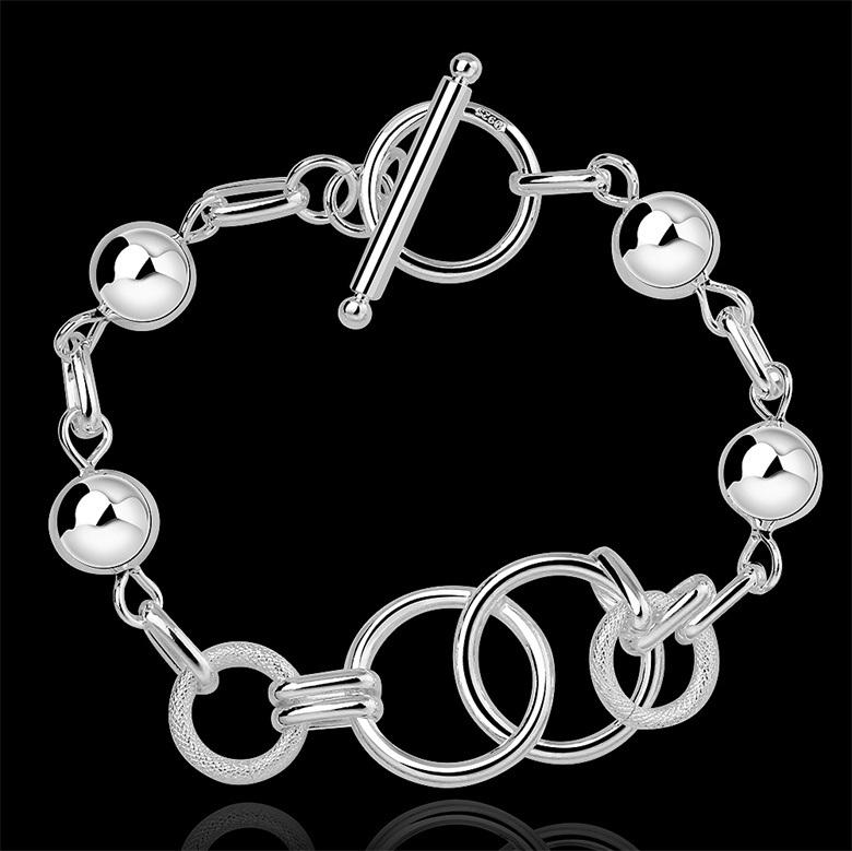 Bijoux Argent Qualité : Bijoux h de bracelets marque mode plaqu?s par
