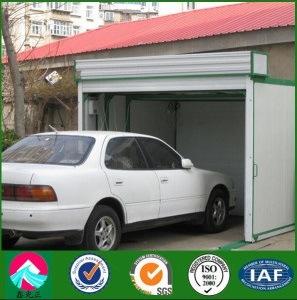 Garage de garage d 39 armature galvanis par tente de garage for Tente garage auto