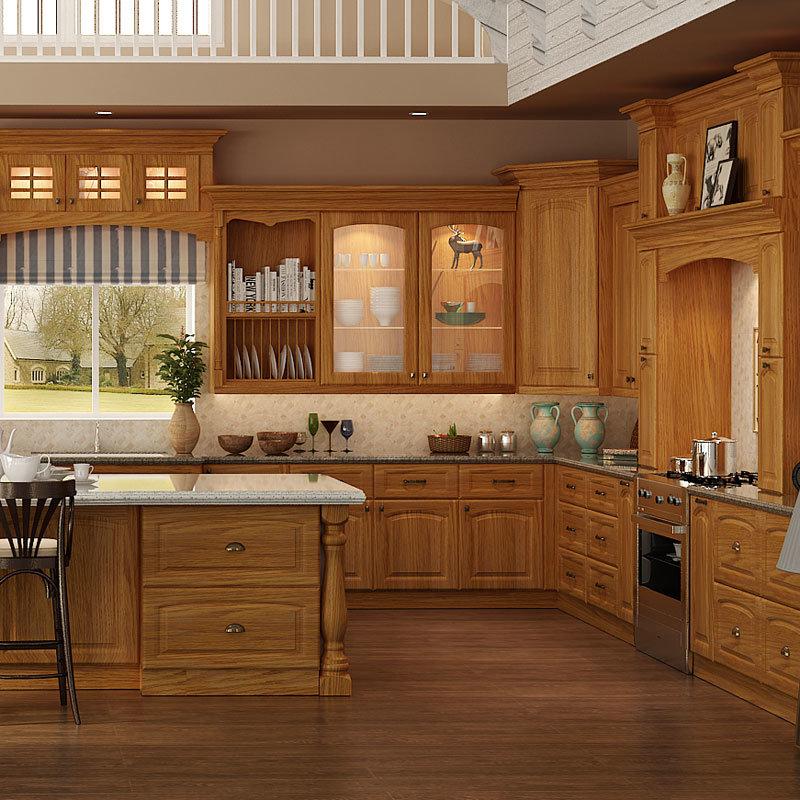 Muebles de cocina en madera maciza ideas for Muebles de cocina de madera maciza catalogo