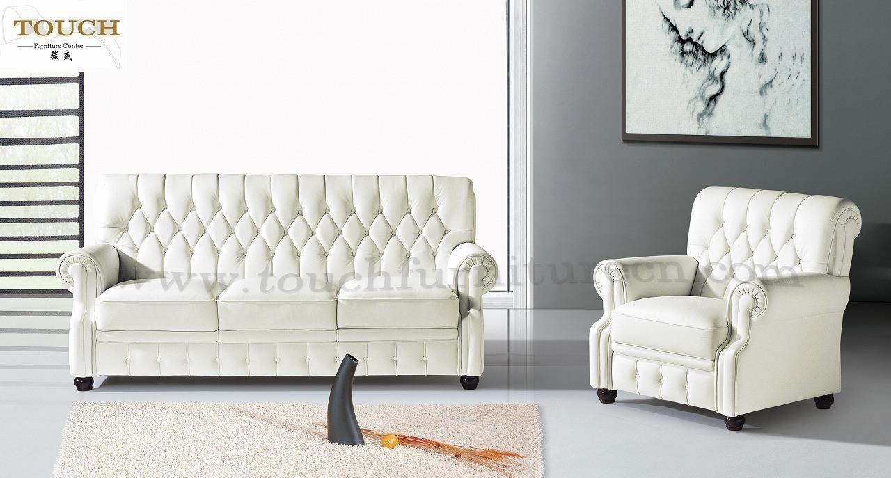 Sof sof di cuoio mobilia del salone js c326 sof for Mobilia divani