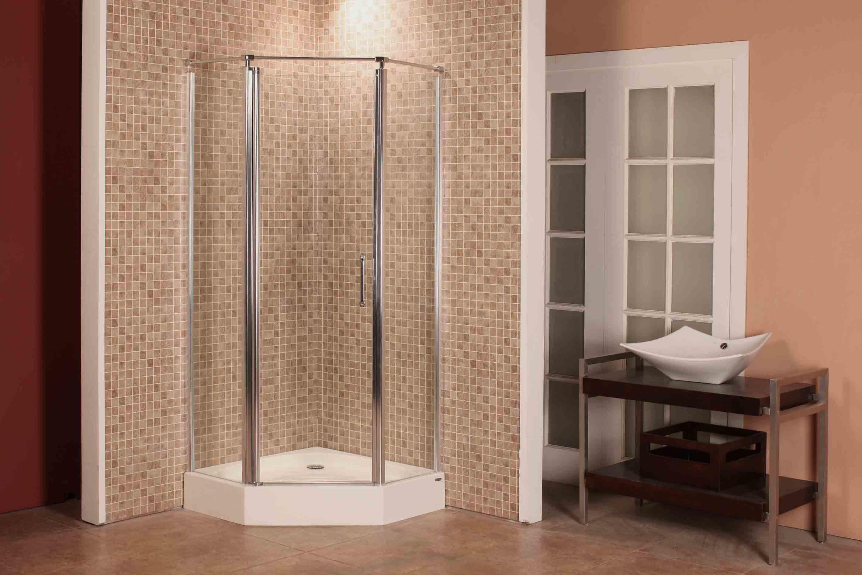 Recinto de la ducha del pivote del diamante de caml 1000 for Manija para ducha