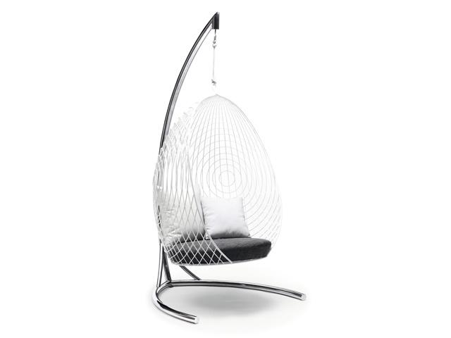 silla colgante del huevo del jard n hamaca de acero ws50