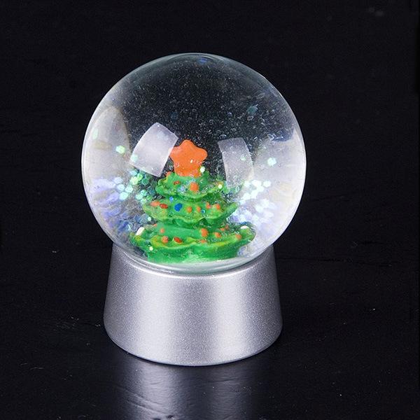 boule en cristal de neige de r sine d coration de boule. Black Bedroom Furniture Sets. Home Design Ideas