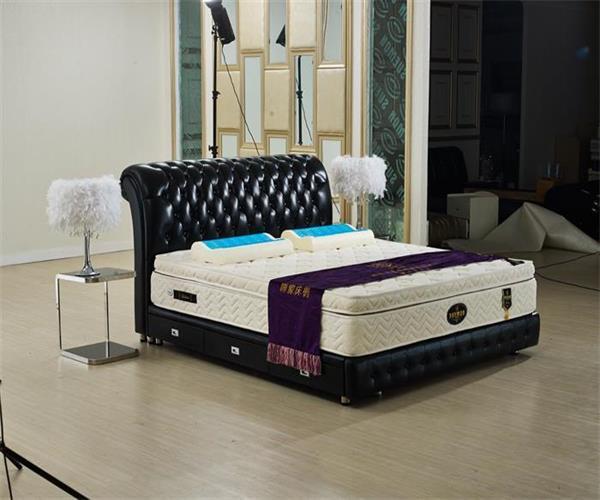 Bed moderne avec drawer pour la chambre coucher for Commande chambre a coucher