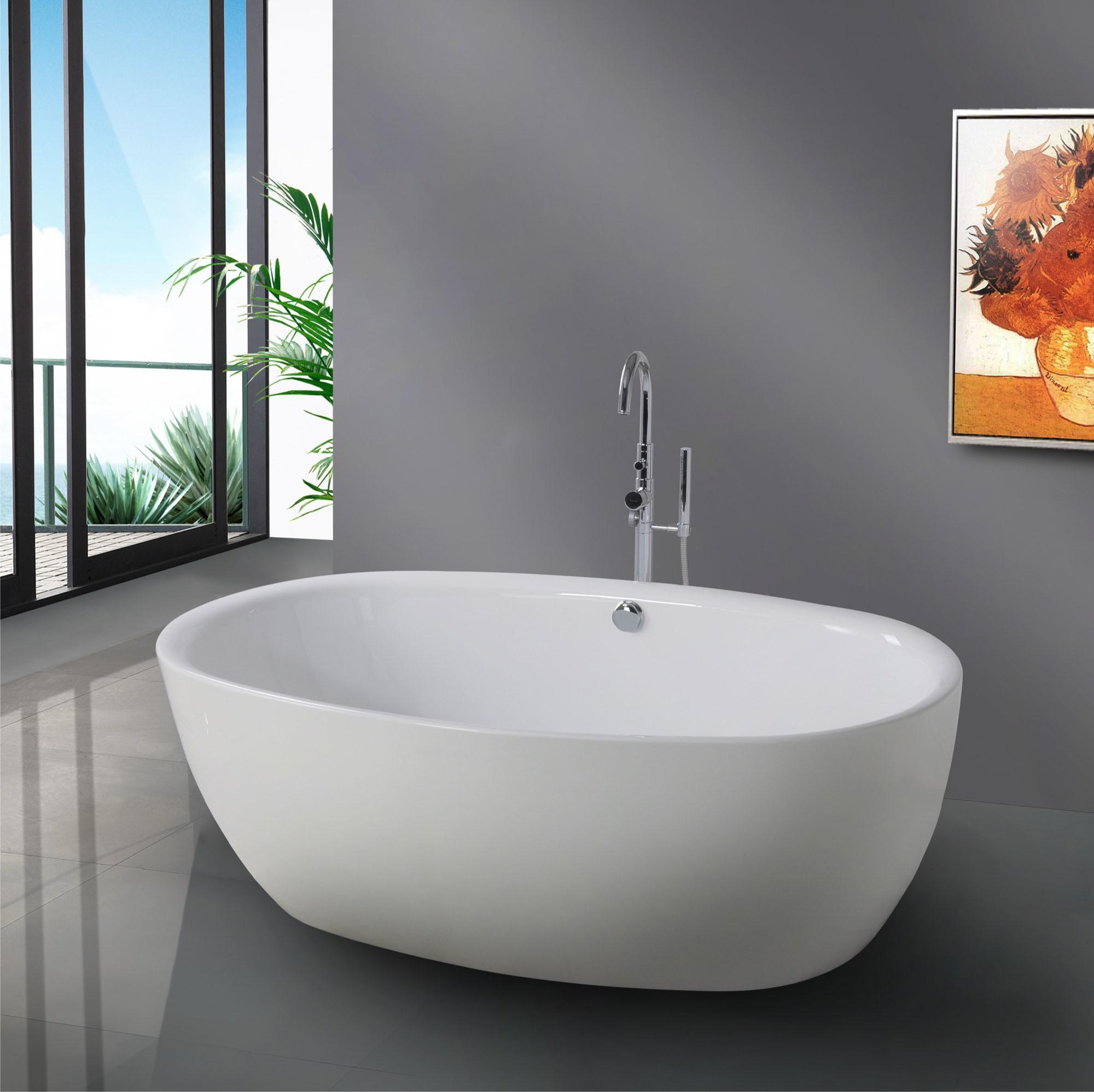 Caldo in 2012 vasca da bagno indipendente moderna bf 6614 - Vasca da bagno profonda ...