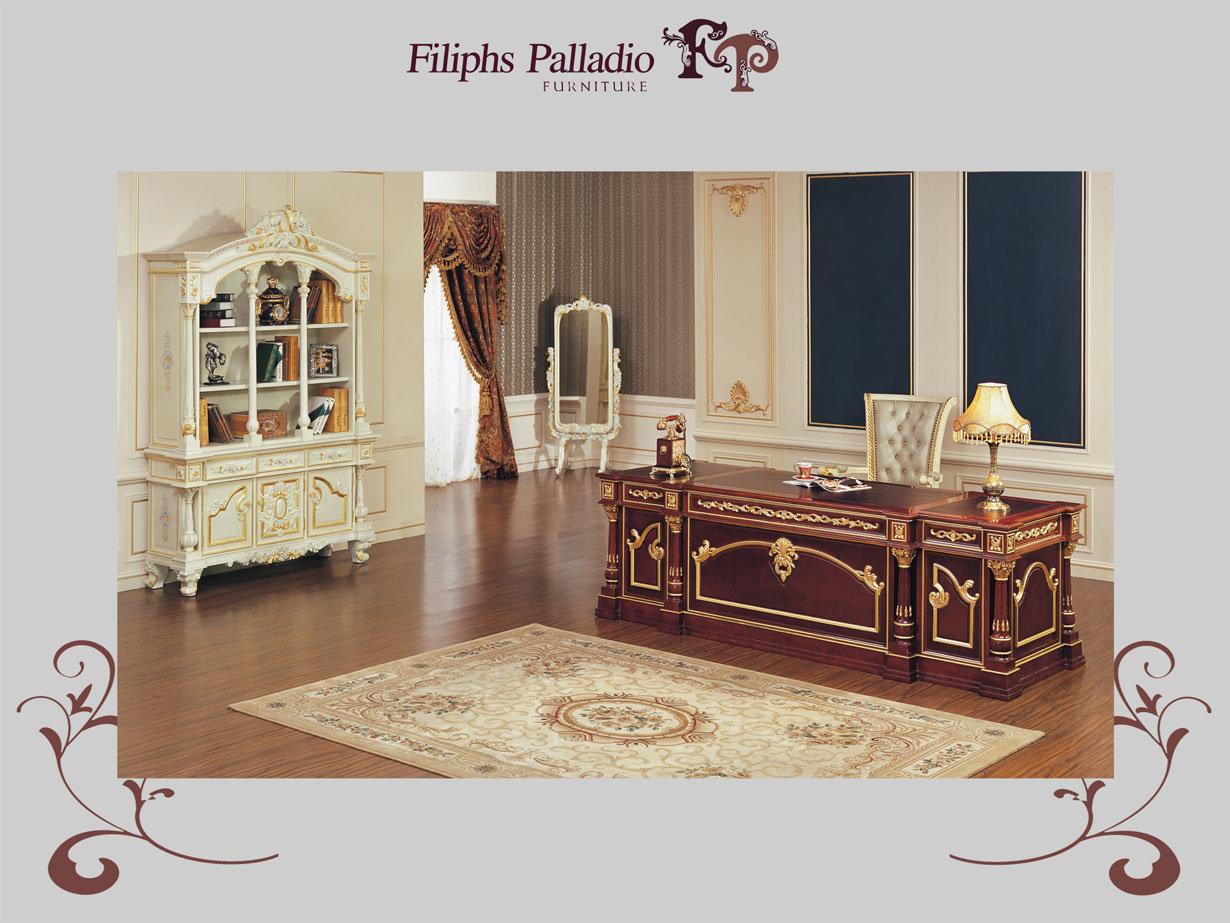 Muebles italianos antiguos del sitio de estudio de hogar for Muebles de oficina italianos