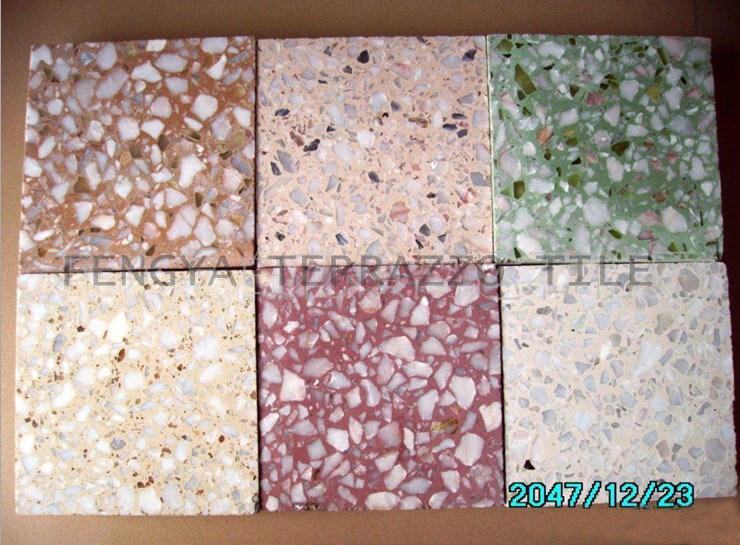 foto de terrazo tile para exterior e interior en es made