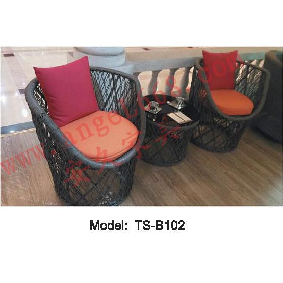 Mesa de rat n silla muebles modernos para balc n mesa de for Muebles de exterior para balcon