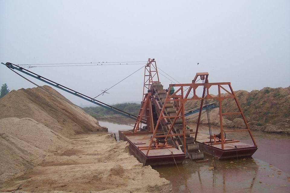 Máquina de dragagem da areia alta do grau da automatização