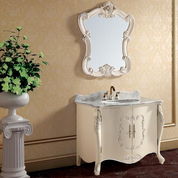 Muebles De Baño De Madera Clasicos : Muebles blancos antiguos de madera derechos del cuarto