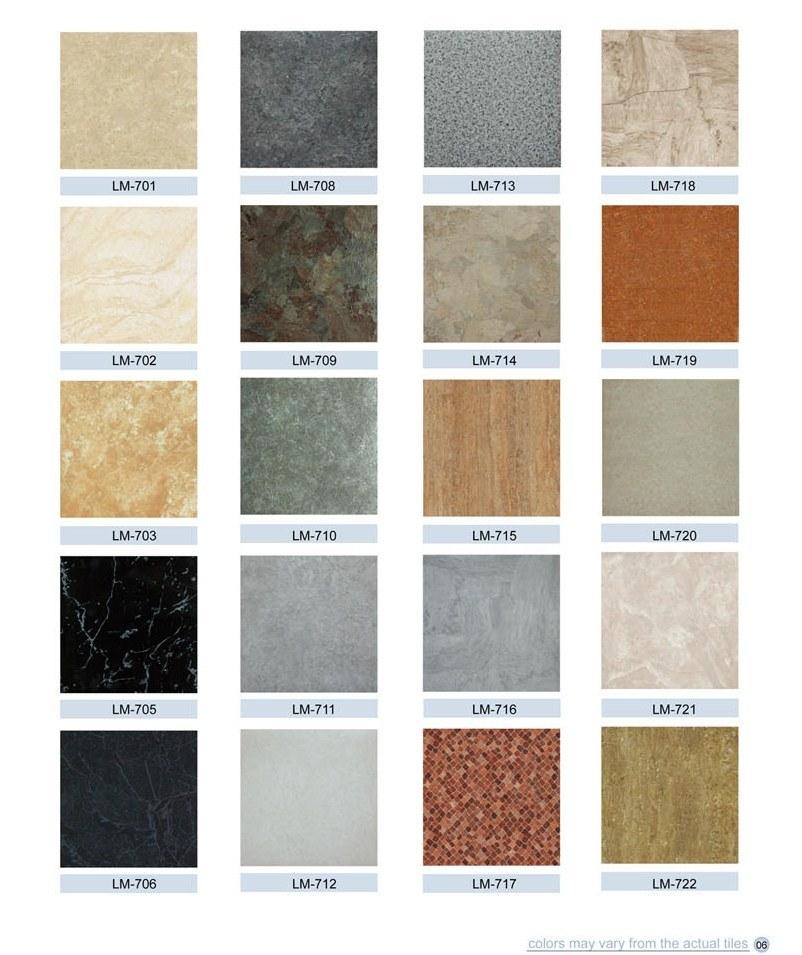 Mattonelle di pavimento di marmo del PVC Vinly di serie – Mattonelle di pavimento di marmo del ...