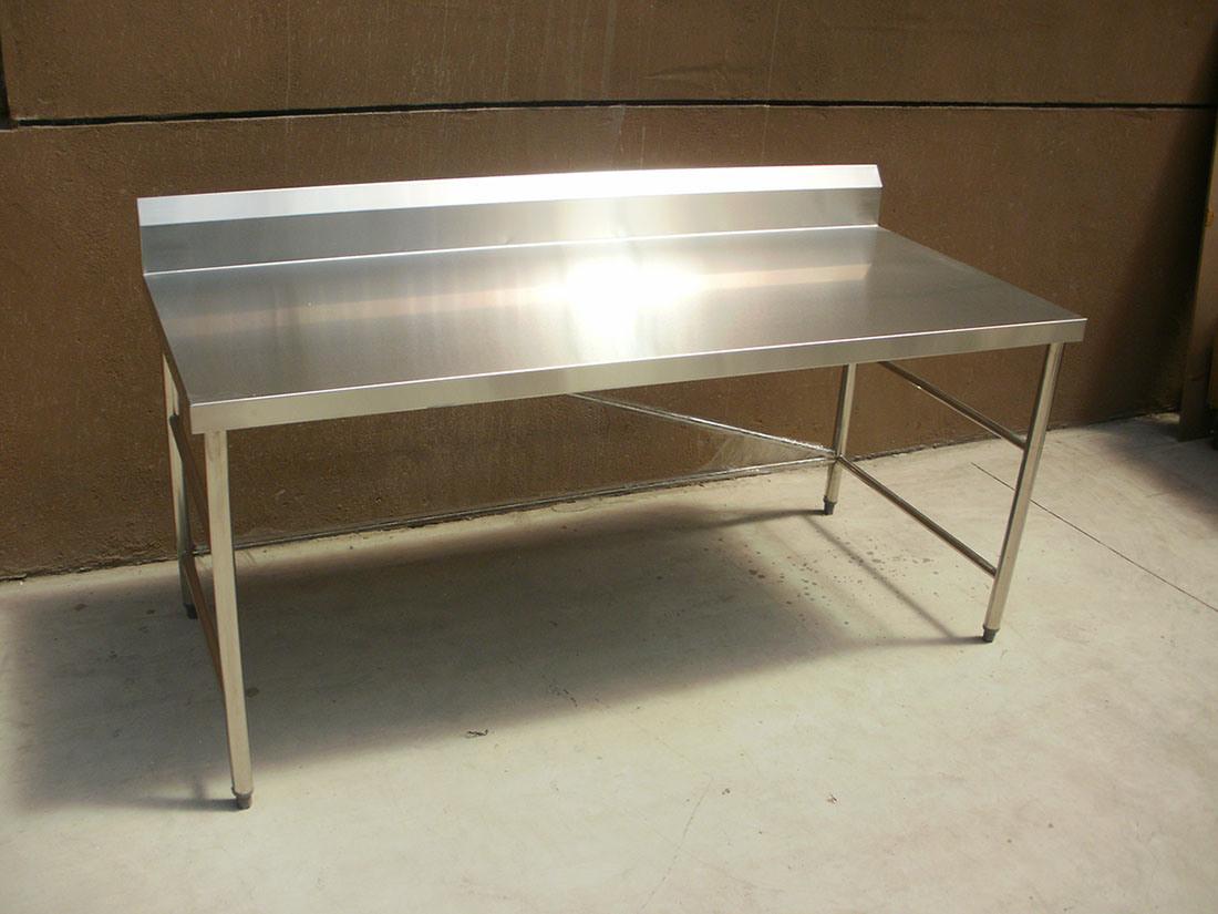 Mesa de trabajo del acero inoxidable con la tajadera sktl 01 mesa de trabajo del acero - Mesa de trabajo acero inoxidable ...