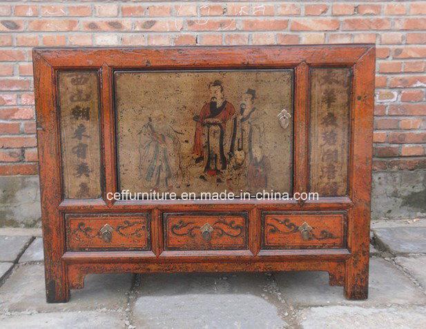 Gabinete pintado a mano de los muebles chinos antiguos de - Muebles orientales segunda mano ...