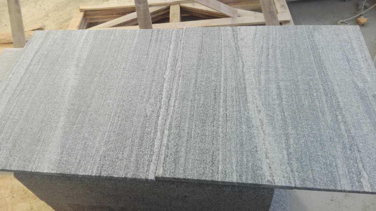 Foto de caliente y competitiva flameado santiago gris for Fabrica de granito en santiago