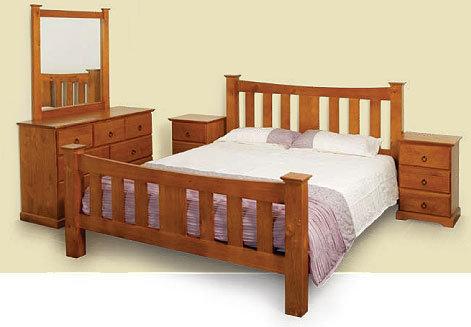 Cama cabecera mueble con cajones del pino cama cabecera for Mueble cama con cajones