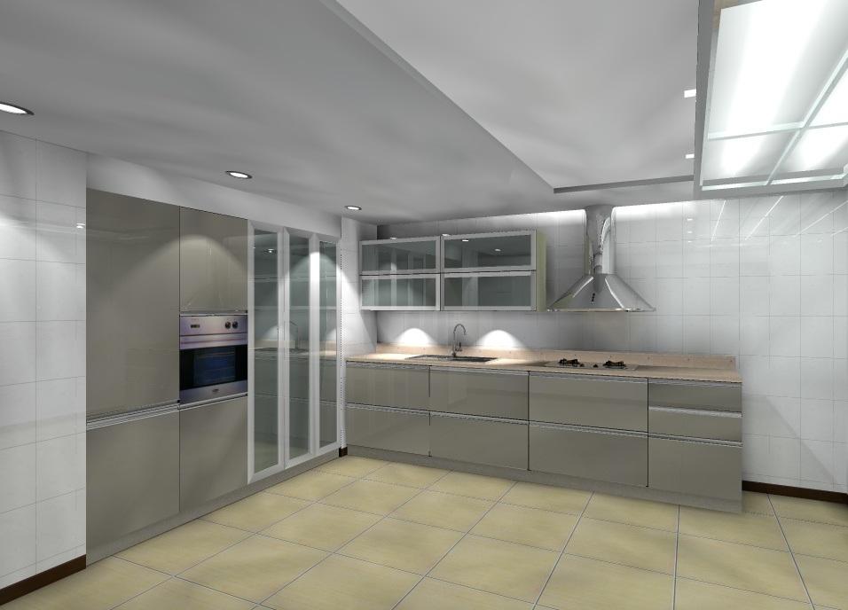 Gabinetes de cocina modernos en cemento for Gabinetes en cemento
