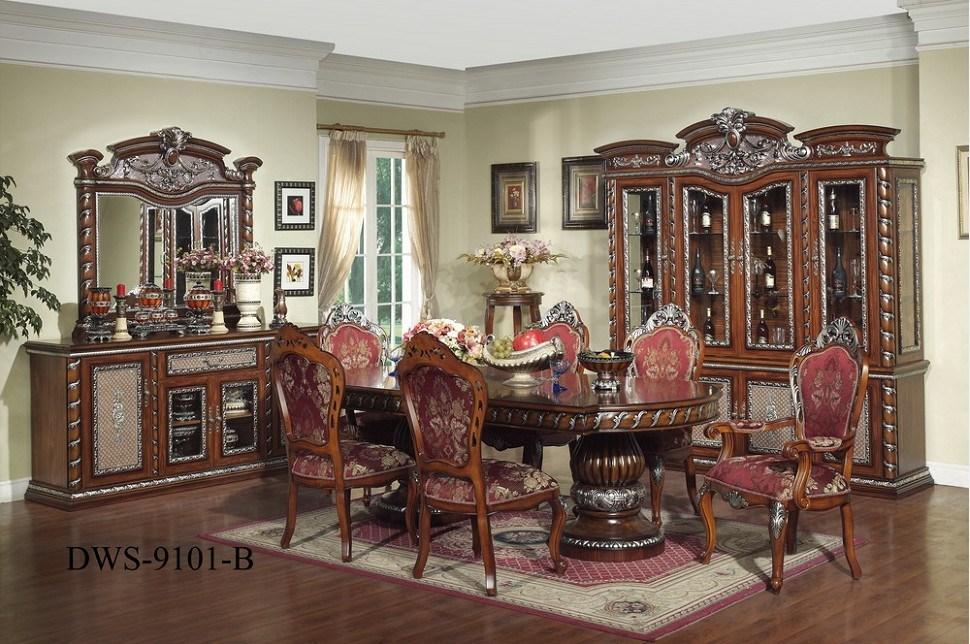 Muebles determinados del comedor del estilo de medio - Muebles del comedor ...