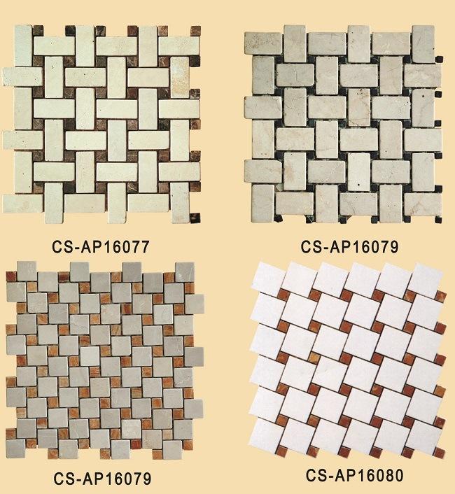 Pietra pavimento disegno : Mattonelle di mosaico di pietra, disegno di bamb? del mosaico ...