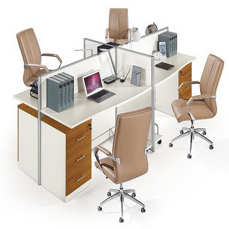 Foto de escritorio modular del sitio de trabajo de la for Escritorio modular