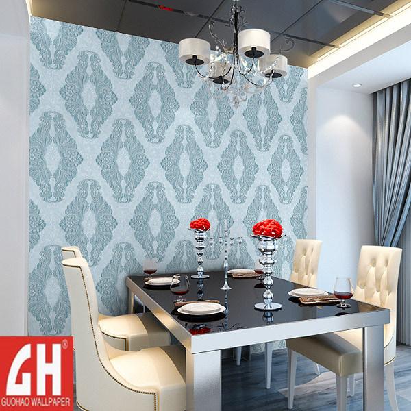 Papel pintado lavable del vinilo del cuarto de ba o 7106 for Papel pared lavable