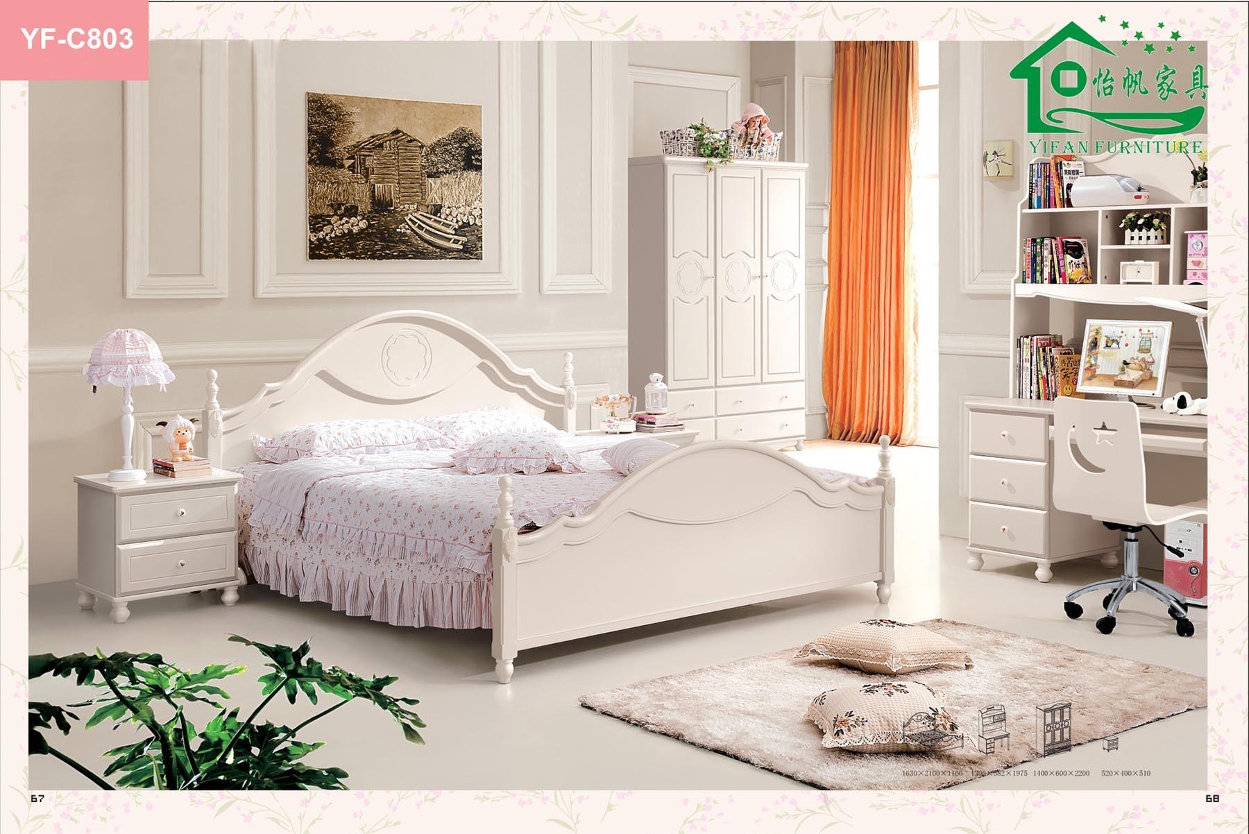 Meubles en bois de chambre coucher d 39 enfant meubles for Meuble chambres coucher