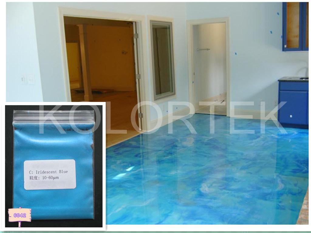Azul efecto epoxi suelos colores pigmento azul efecto for Pintura epoxi suelos precio