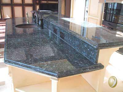 Cutting Granite Countertop : Granite Pre Cut Granite Countertops Kitchen top ?Blue Pearl Granite ...